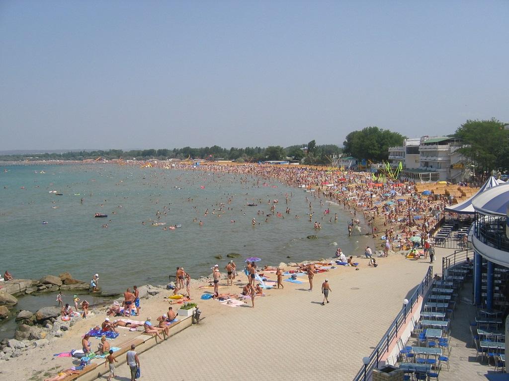 Анапа витязево центральный пляж фото
